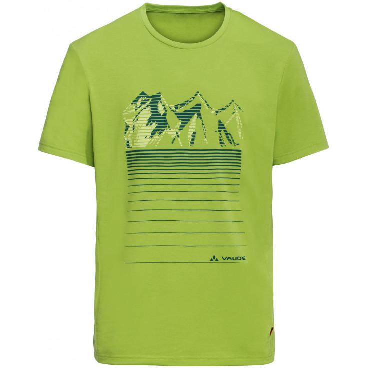 Tee-shirt respirant homme GLEANN chute-green Vaude