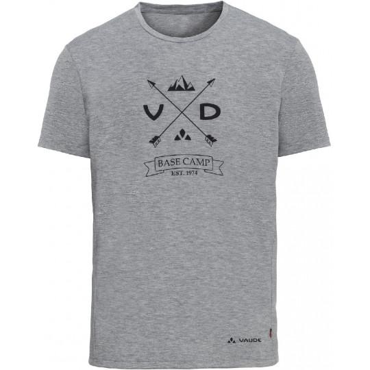 Tee-shirt respirant homme GLEANN gris shiné Vaude