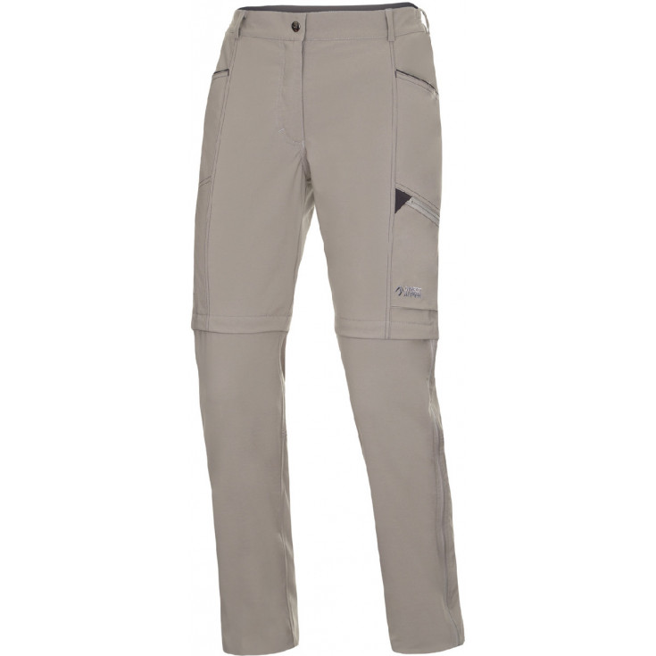 Pantalon de randonnée convertible femme BEAM ZIP OFF PLUS LADY beige Directalpine