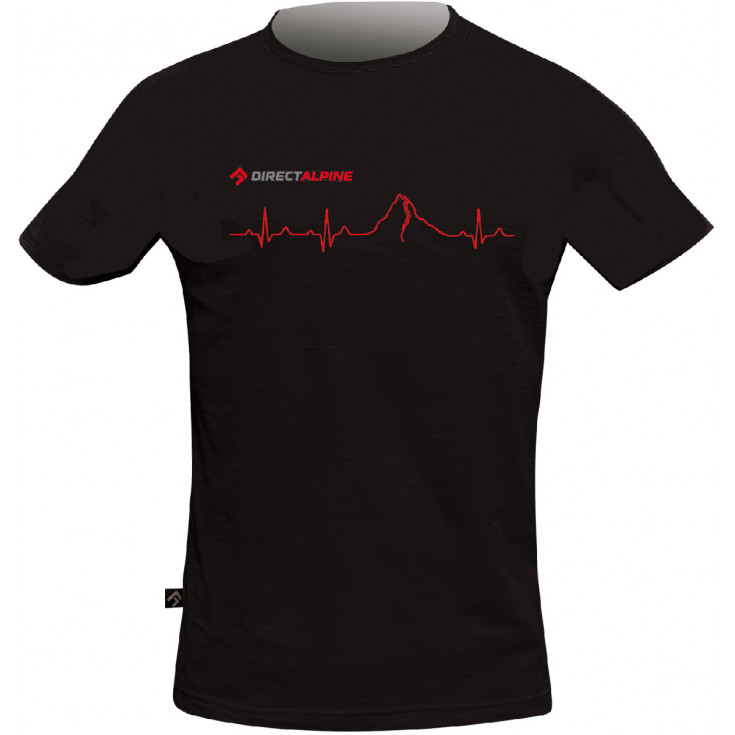 Tee-shirt homme BOSCO PULSE noir DirectAlpine