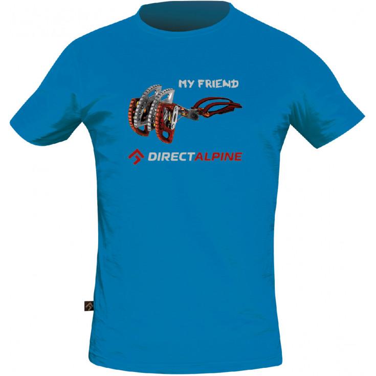 Tee-shirt homme BOSCO MY FRIEND bleu DirectAlpine