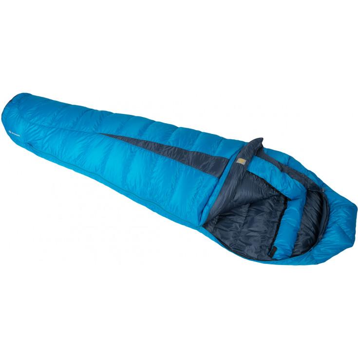 Sac de couchage plume femme PAINE 900 LONG bleu 170 SirJoseph