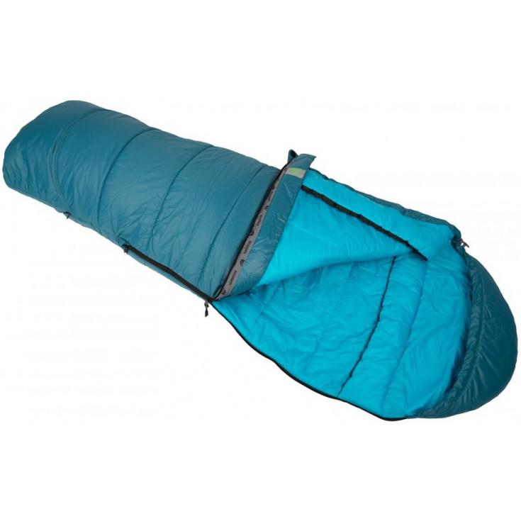 Sac de couchage enfant plume KIKI DOWN 125-145cm bleu SirJoseph