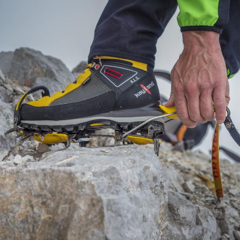 Kayland Montania Mountain Chaussure Yellow Gtx Alpinisme Sport Cross EDWH2YI9