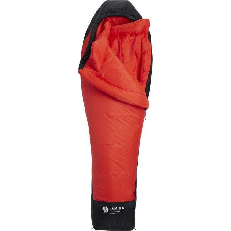 Sac de couchage synthétique femme LAMINA -18 S rouge Mountain Hardwear S19