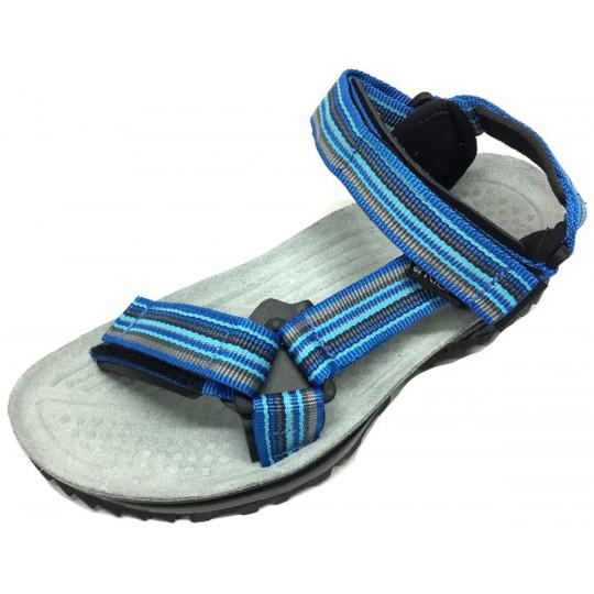 Sandales de randonnée homme Terra Trek bleu Triop