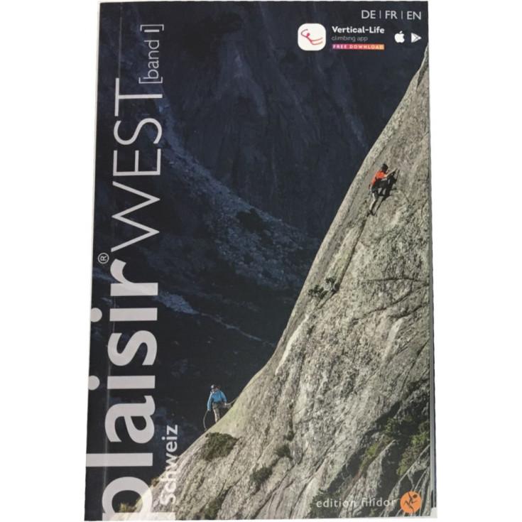 Livre Topo Escalade PLAISIR WEST 2019 Tome 1 Editions Filidor DE-FR-EN