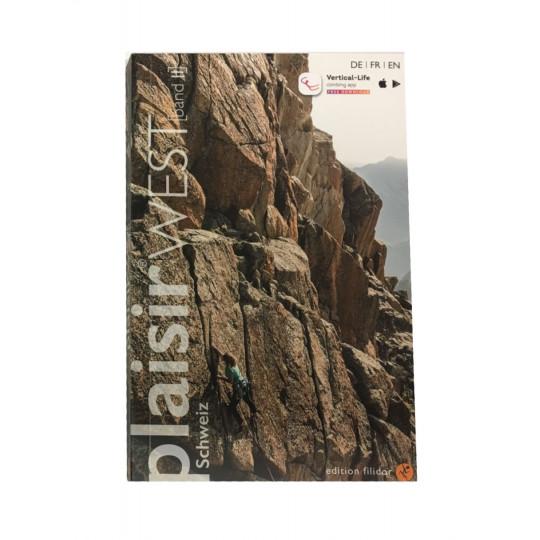 Livre Topo Escalade PLAISIR WEST 2019 Tome 2 Editions Filidor DE-FR-EN
