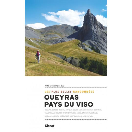 Livre Les plus belles randonnées QUEYRAS-PAYS DU VISO - Anne et Jérôme Renac - Editions Glénat