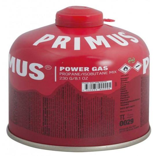 Cartouche Gaz POWER GAS 230g rouge PRIMUS
