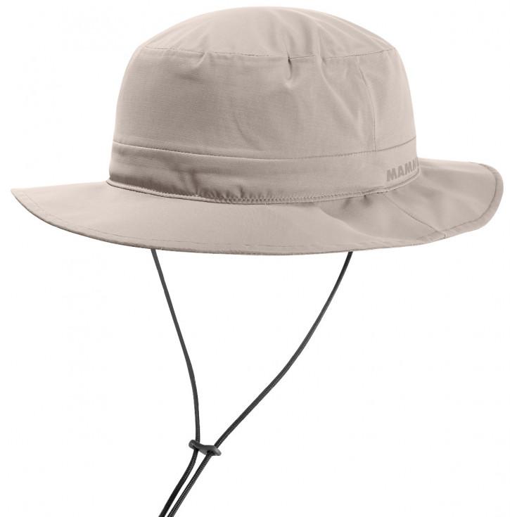 Chapeau de randonnée imperméable MACHU HAT DRYtech Pro beige Mammut
