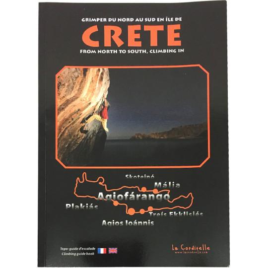 Livre Topo Escalade - CRETE - AGIOFARANGO - Philippe Bugada - La Corditelle