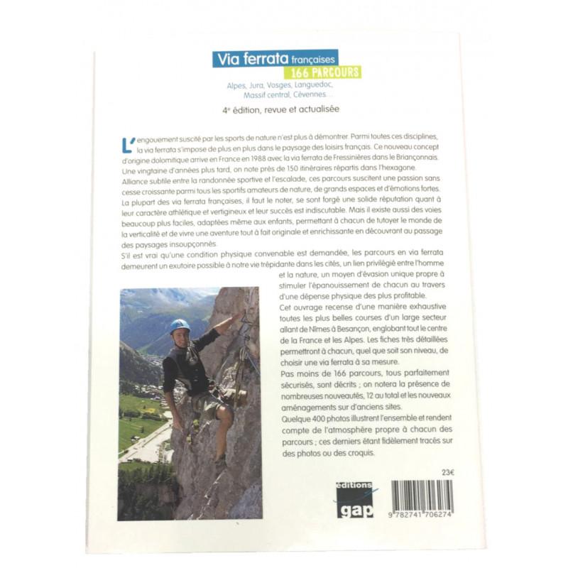 Livre Topo Via Ferrata Francaises De Bernard Ranc 4eme Ed