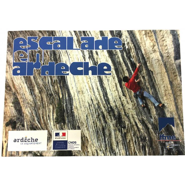 Livre Topo Escalade en ARDECHE - FFME - 2017