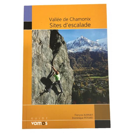 Livre Topo Sites d'escalade Vallée de Chamonix - Burnier et Potard - Guide Vamos 2019