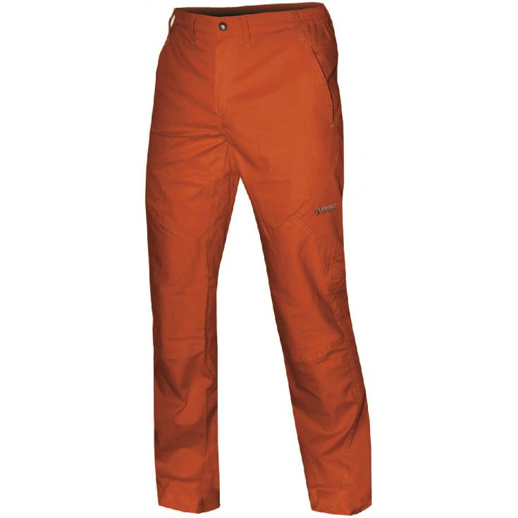Pantalon coton homme JOSHUA PANT orange Directalpine