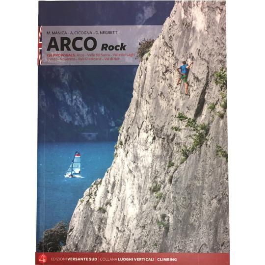 Livre Topo Escalade Italie - ARCO Rock (English) - Manica Negretti Cicogna - Versante Sud 2018