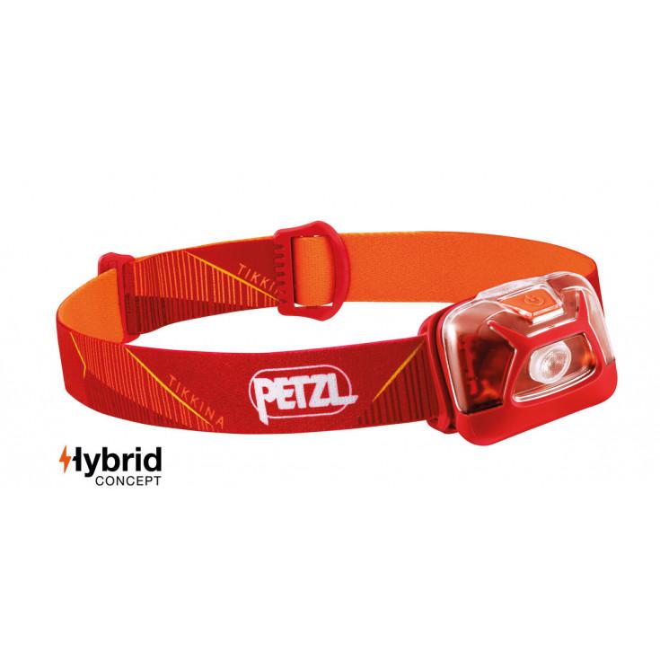 Lampe frontale Tikkina rouge 250 lumens Petzl 2020
