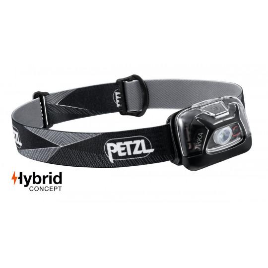 Lampe frontale Tikka noir 300 lumens Petzl