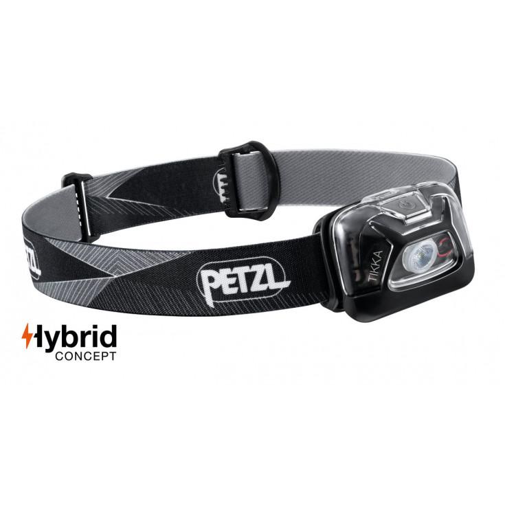 Lampe frontale Tikka noir 300 lumens Petzl 2020