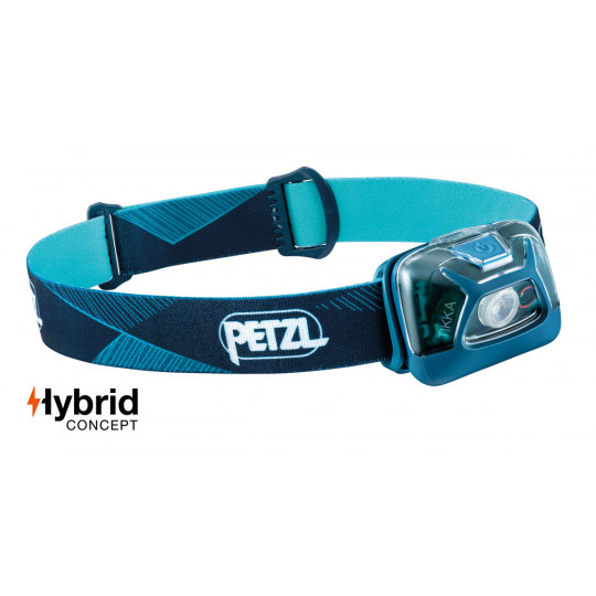 Lampe frontale TIKKA bleu 300 lumens Petzl