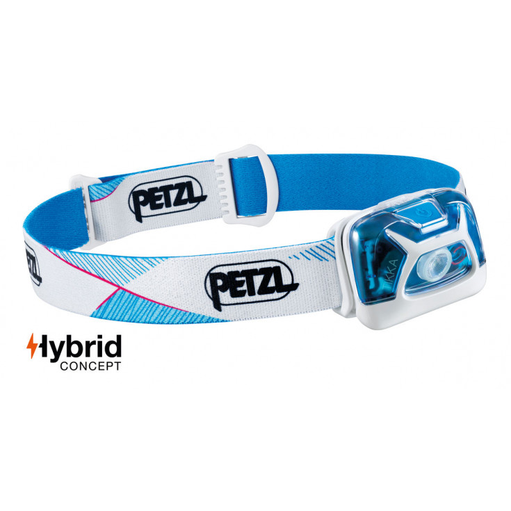 Lampe frontale TIKKA bleu-blanc 300 lumens Petzl 2020