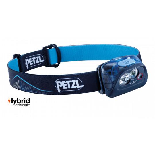 Lampe frontale ACTIK bleu 350 lumens Petzl
