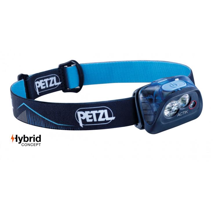 Lampe frontale ACTIK bleu 350 lumens Petzl 2020