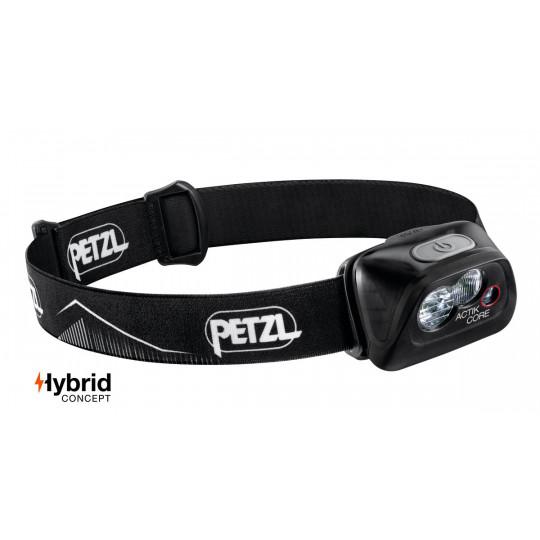 Lampe frontale rechargeable ACTIK CORE noir 450 lumens Petzl