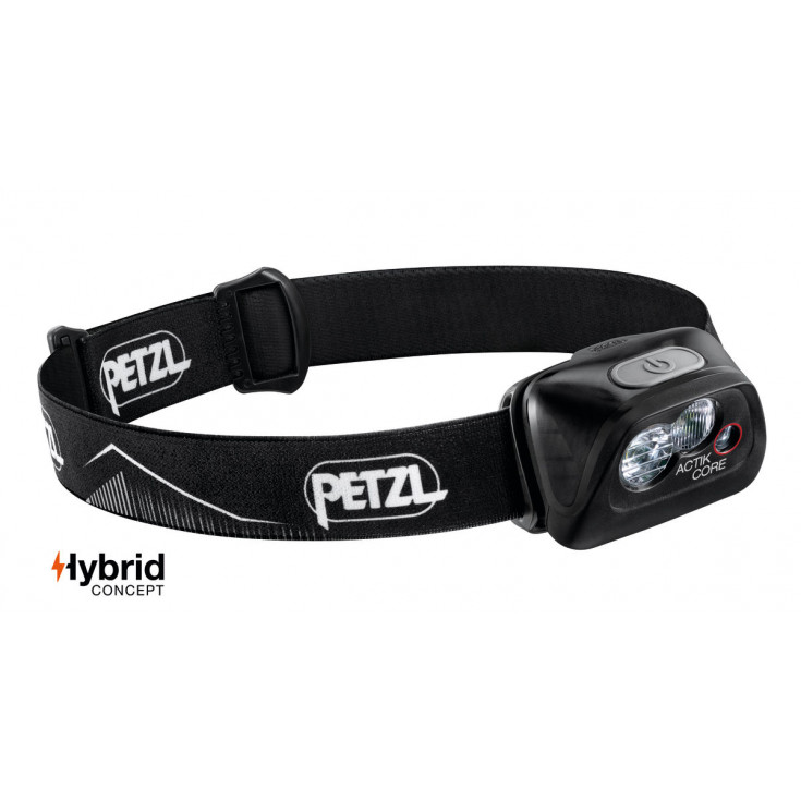 Lampe frontale rechargeable ACTIK CORE noir 450 lumens Petzl 2020