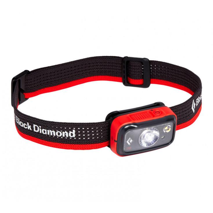 Lampe frontale à piles SPOT 325 rouge Black Diamond 2020