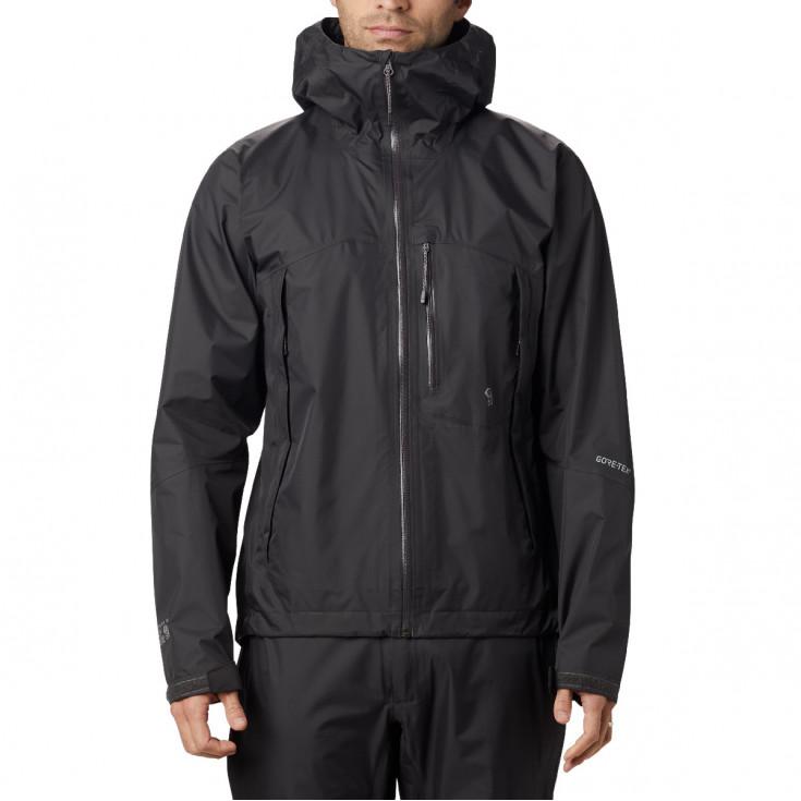 Veste GORE-TEX PACLITE homme 2.5L Exposure Jacket Void Mountain Hardwear F19-20