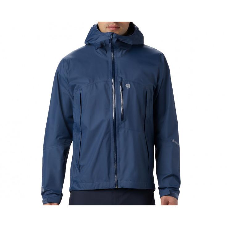 Veste GORE-TEX PACLITE homme 2.5L Exposure Jacket Zinc Mountain Hardwear F19-20