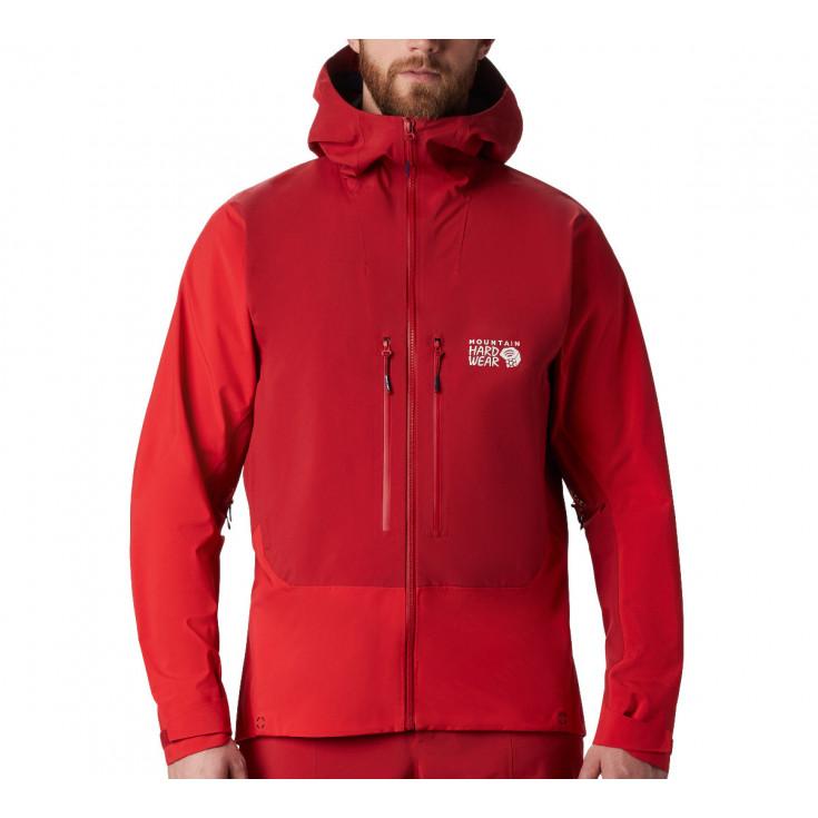 Veste GORE-TEX PRO homme 3L Exposure Jacket Dark-Brick Mountain Hardwear F19-20