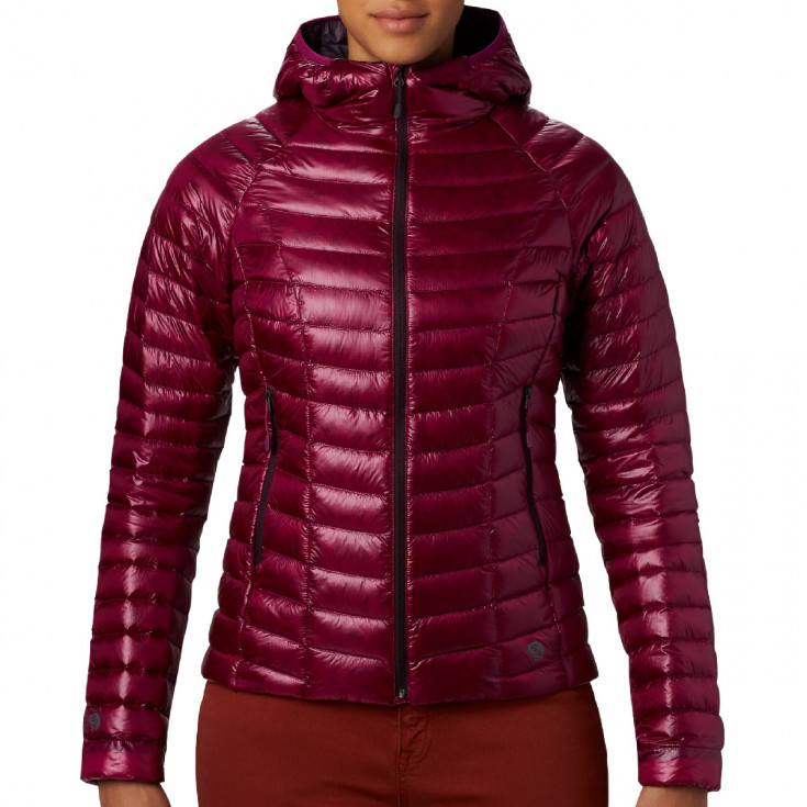 Doudoune à capuche femme GHOST WHISPERER HOODED DOWN Jacket Divine Mountain Hardwear