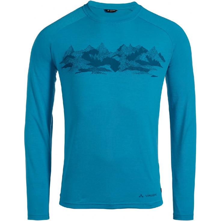 Tee-shirt respirant homme à manches longues GLEANN LS Icicle Vaude