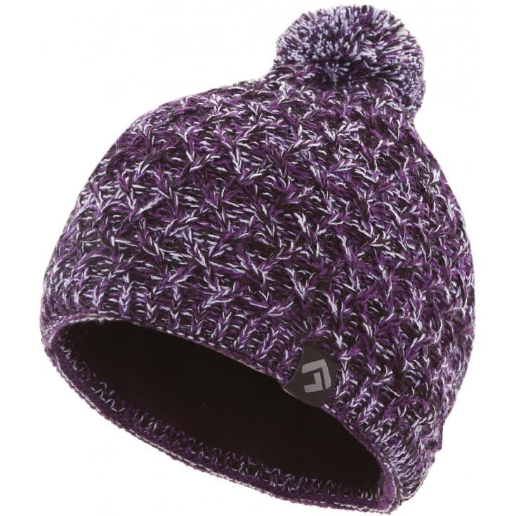 Bonnet pompon femme ASTRA violet Directalpine