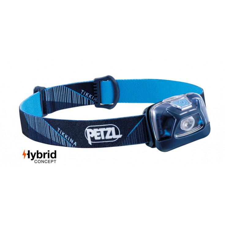 Lampe frontale Tikkina bleu 250 lumens Petzl 2020