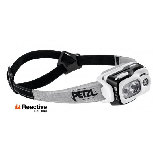 Lampe frontale rechargeable SWIFT RL noir 900 lumens Petzl