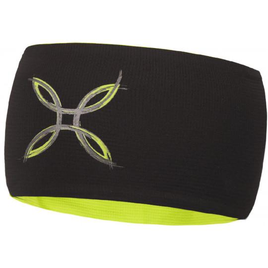 Bandeau LIGHT PRO BAND noir-vert Montura