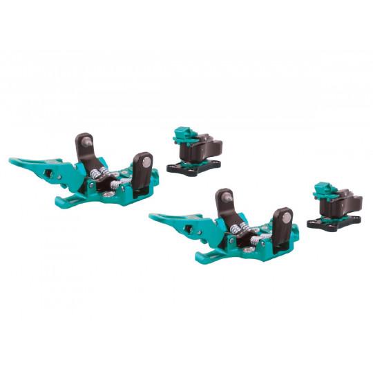 Fixation ski de rando OAZO 6 turquoise Plum