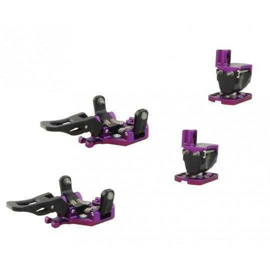 Fixation ski de rando GUIDE 7 violet Plum