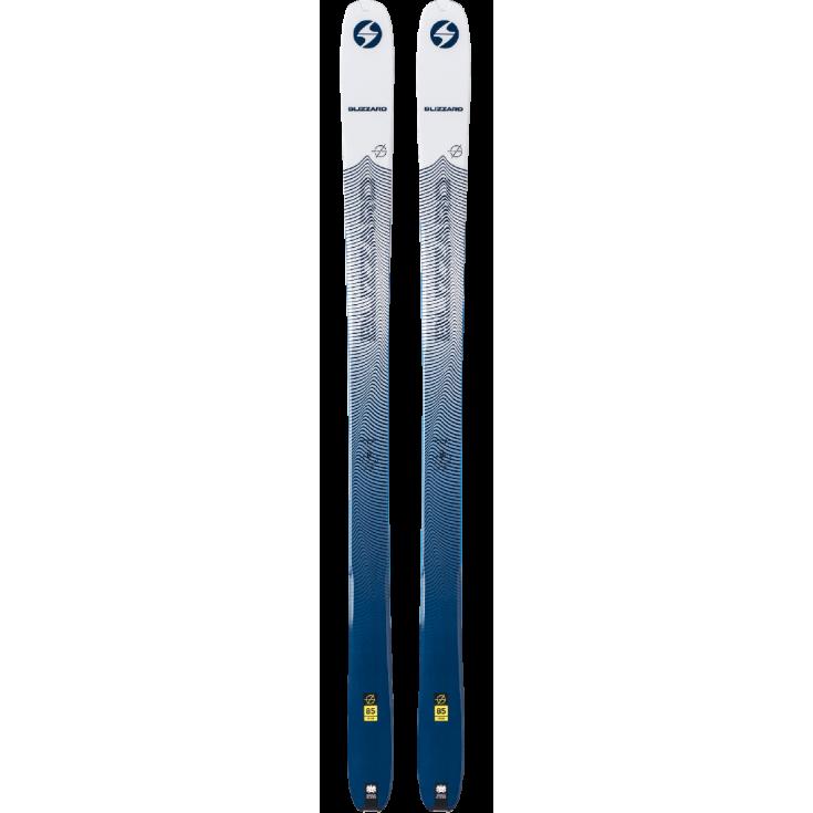 Ski de rando femme ZERO G 85 (FLAT) ice-blue Blizzard 2020
