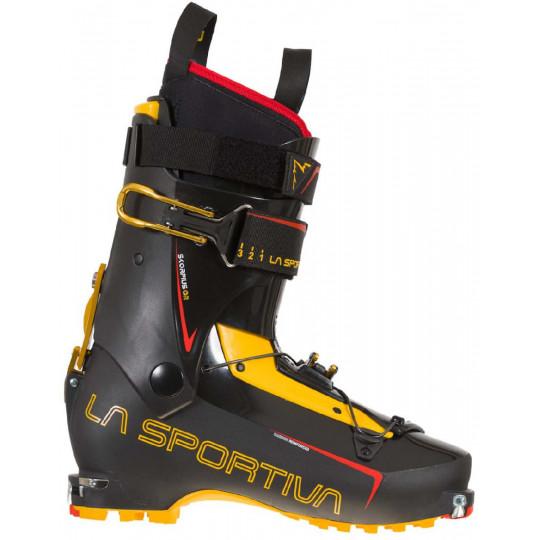 Chaussure ski de rando SKORPIUS CR Black-Yellow La Sportiva