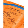Trousse de secours FIRST AID ROLL DOC MINI bleu-orange Ortovox