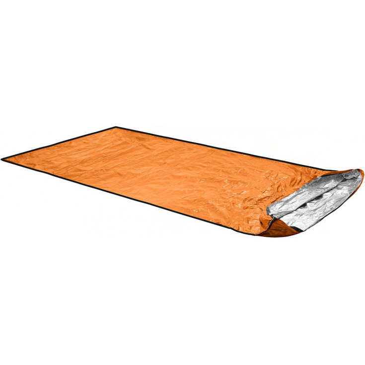 Sac de couchage de Survie et Secours BIVY ULTRALIGHT 1-2P bleu-orange Ortovox