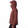 Doudoune à capuche femme SUPER DS CLIMB HOODY W Dark-Umber Mountain Hardwear F19-20