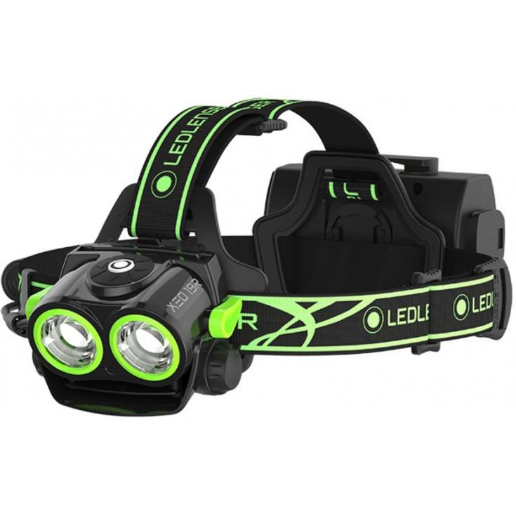 Lampe frontale rechargeable XEO19R Ledlenser 2000 lumens