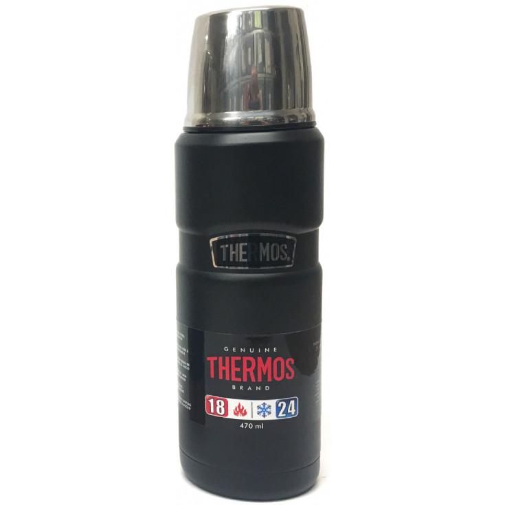 Bouteille THERMOS 470ml KING noir-mat Thermos Original