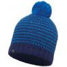 Bonnet à pompon KNITTED & POLAR HAT Dorn-Blue Buff